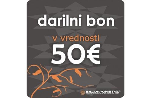 Darilni bon SalonPohistva.si 50€