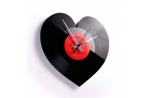 Stenska ura Disc'o'clock Heart