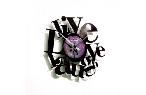 Stenska ura Disc'o'clock Live, Love, Laugh