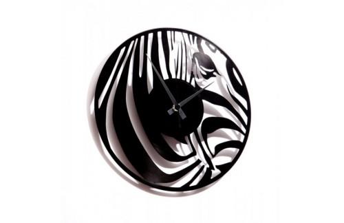 Stenska ura Disc'o'clock Zebra