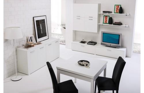 Dnevna soba LEO - bela