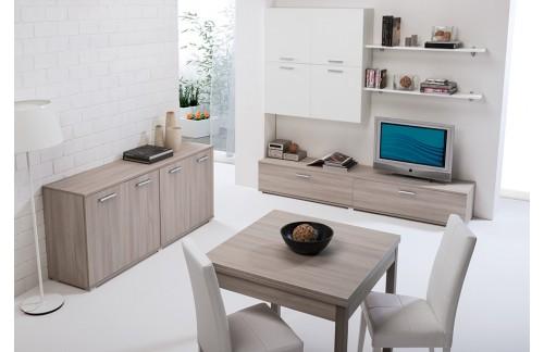 Dnevna soba LEO - olmo/bela