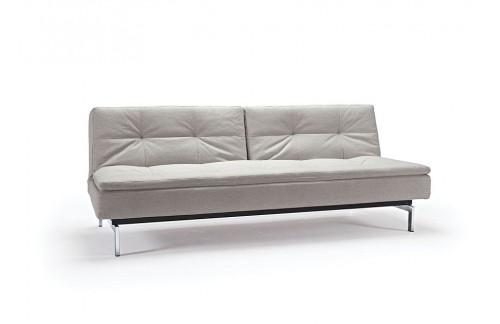 Kavč DUBLEXO SOFA BED s kromiranimi nogicami