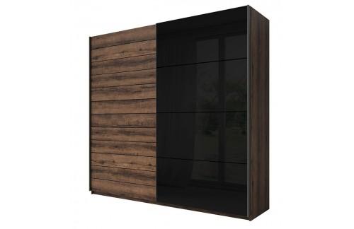 Garderobna omara Galant z drsnimi vrati (220 cm)