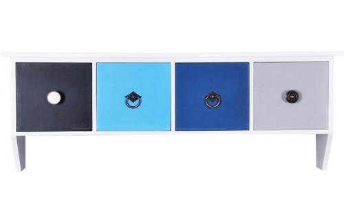 Garderobna omarica BLUE 4