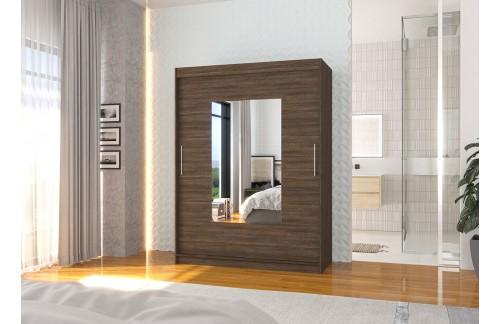 Garderobna omara z drsnimi vrati Dorrigo (150 cm)