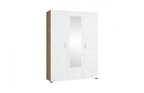 Garderobna omara s 3 vrati Luna 150 cm