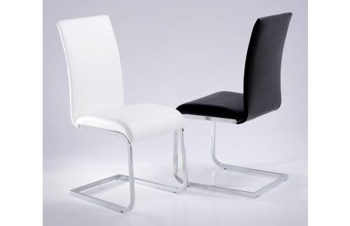 Jedilni stol Pura (več barv)-Črna