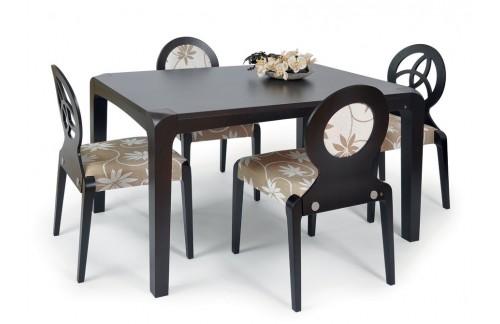 Jedilnica NL4: jedilna miza Vita in 4 stoli za jedilnico Dolce 3