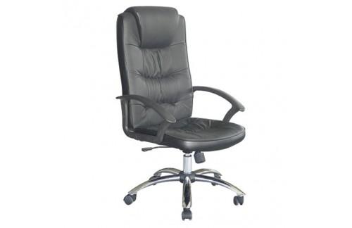 Pisarniški stol K-8729M (črno umetno usnje)