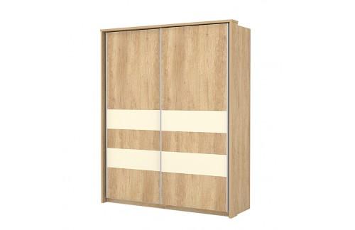 Garderobna omara Kalla Comfort z drsnimi vrati (180 cm)