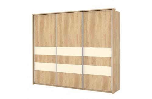 Garderobna omara Kalla Comfort z drsnimi vrati (280 cm)