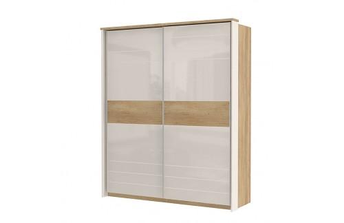 Garderobna omara Kalla Modern z drsnimi vrati (180 cm)