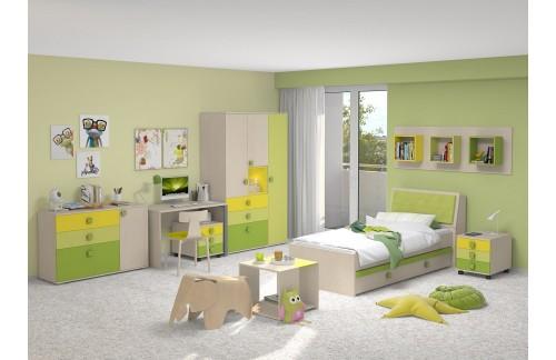 Otroška soba TRIO GREEN