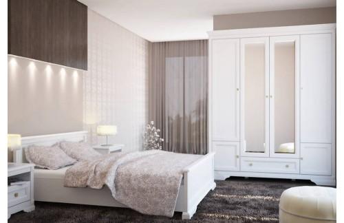 Postelja Kleo z vključenim posteljnim podom