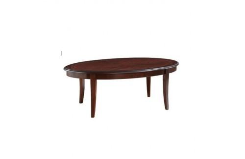 Klubska mizica ANTIK - ovalna