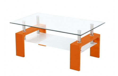 Klubska mizica Intro-Oranžna RAZPRODAJA