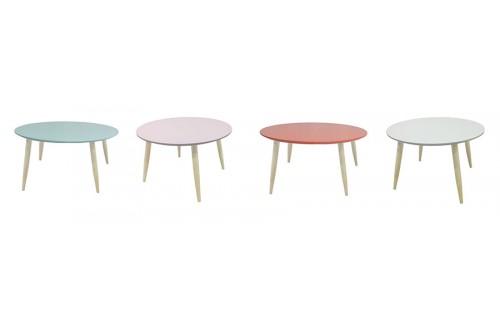 Klubska mizica Manon - okrogla