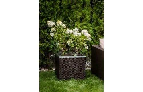 Korito za rože NICE (samo-zalivalno) - več barv