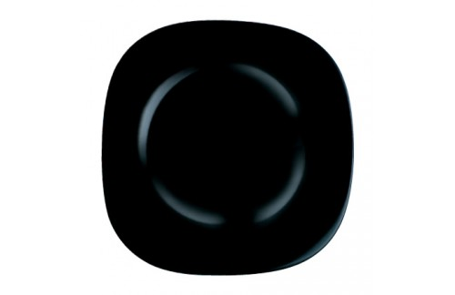 Krožniki Luminarc Carine Črna plitvi (6 kosov)