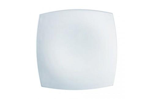Krožniki Luminarc Quadrato Bela plitvi (6 kosov)