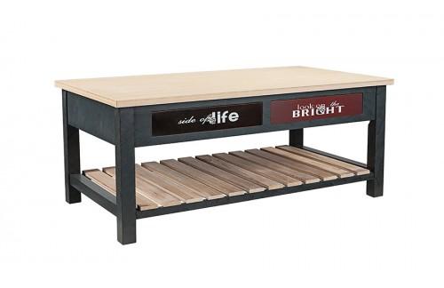 Lesena kavna mizica Life