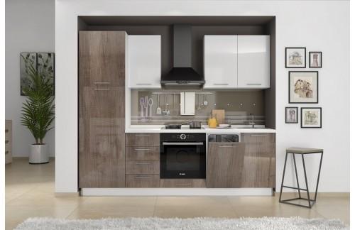 Kuhinja LIRA 270 cm - več barv (TUDI PO NAROČILU)