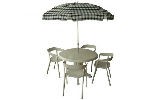 Okrogla vrtna miza DORIANO - slika je simbolična