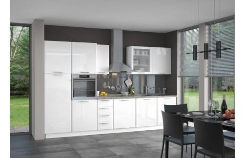 Kuhinja MODERN 340 cm - več barv (TUDI PO NAROČILU)