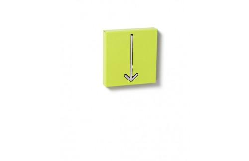 Obešalnik ARROW - zelena