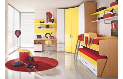 Otroška soba Colombini Volo V309
