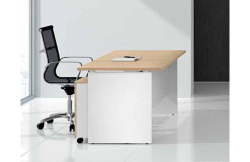 Pisalna miza TK100-180x80, brest barva (RAZPRODAJA)