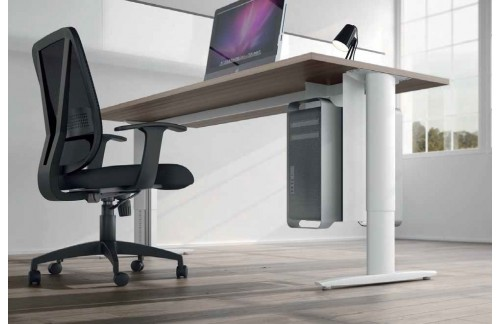 Nastavljiva pisalna miza TK120 (dimenzija 140x80 in barva temen brest)