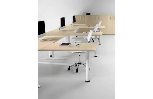Pisarniško pohištvo komplet z omaro TK03 - 1