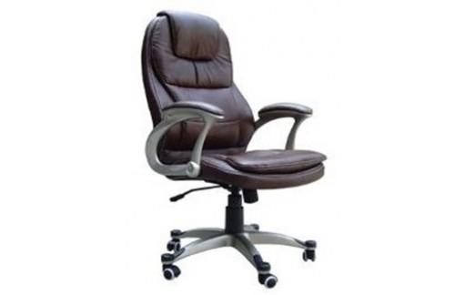 Pisarniški stol HY-8893 (PRAVO USNJE, črna)