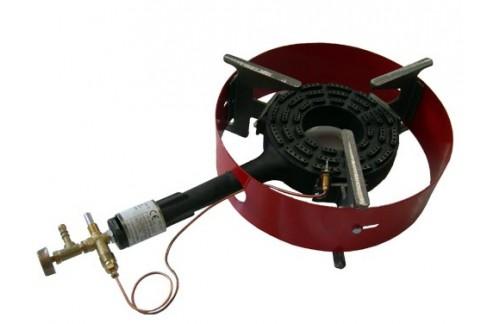 Plinski gorilnik G1ZO, z obročem in varovanjem