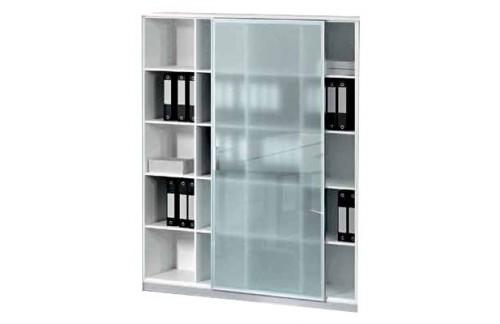 Polična omara s steklenimi vrati TK08