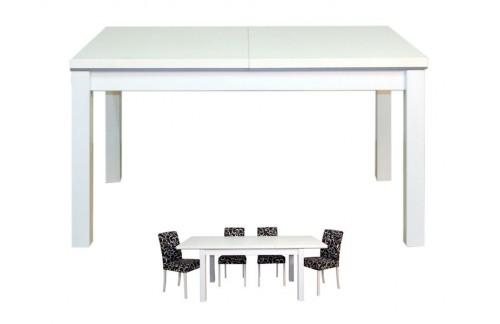 Jedilna miza PORTO - 140 cm (bela)