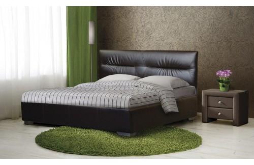 Oblazinjena postelja TIFFANY z dvižnim mehanizmom