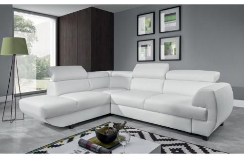 Sedežna garnitura CORD - bela barva