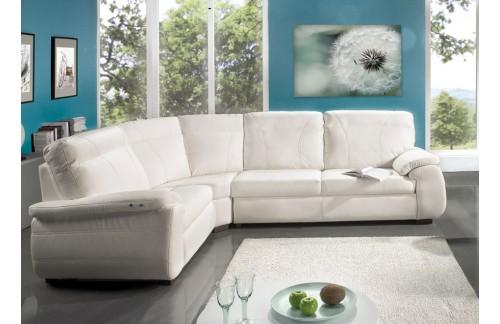 Sedežna garnitura MAXI - bela barva - simbolična slika