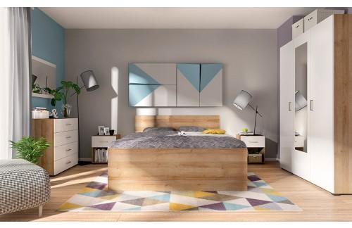 Komplet spalnica LUNA