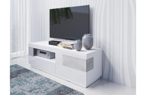 TV OMARICA STOCKHOLM 160 cm BELA/BETON