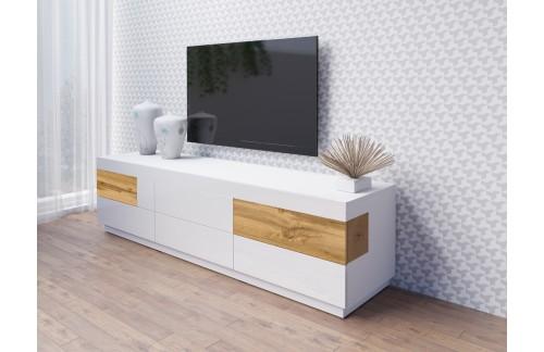 TV OMARICA STOCKHOLM 206CM BELA/HRAST