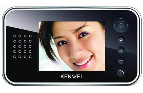 Video domofon Kenwei KW-E561C-W32 - črna notranja enota