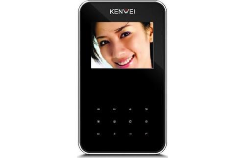 Video domofon Kenwei KW-S351C (s spominom ali brez) - črna notranja enota