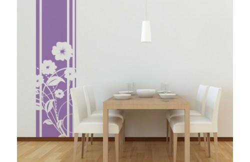 Stenska nalepka WALLTATTOO 408 50x220 (vijolična)