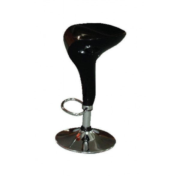 Barski stol SONG - črn