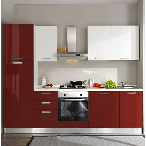 Komplet kuhinja 2114S, 270 cm