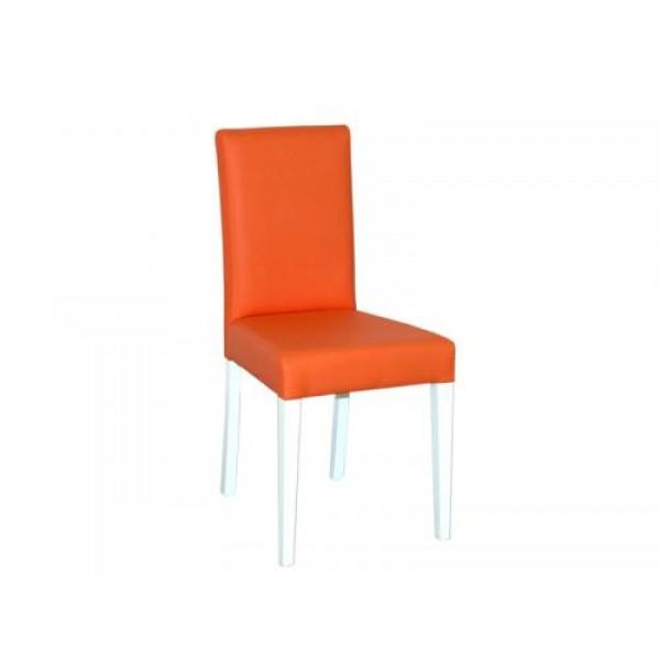 Stol SCALA (oranžno-bel)